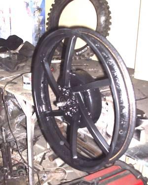 Как сделать колесо для урала