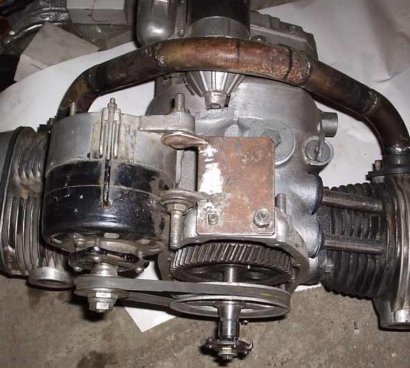 На двигатель генератор
